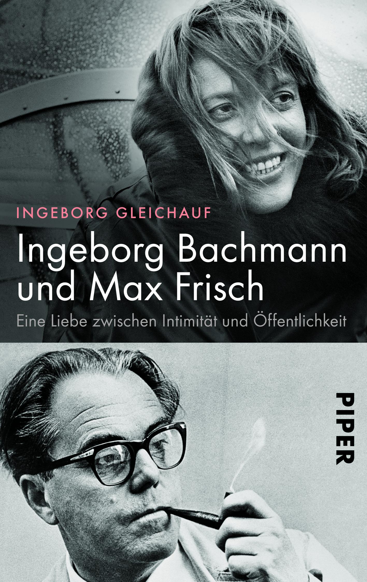 Buchcover Ingeborg Bachmann und Max Frisch
