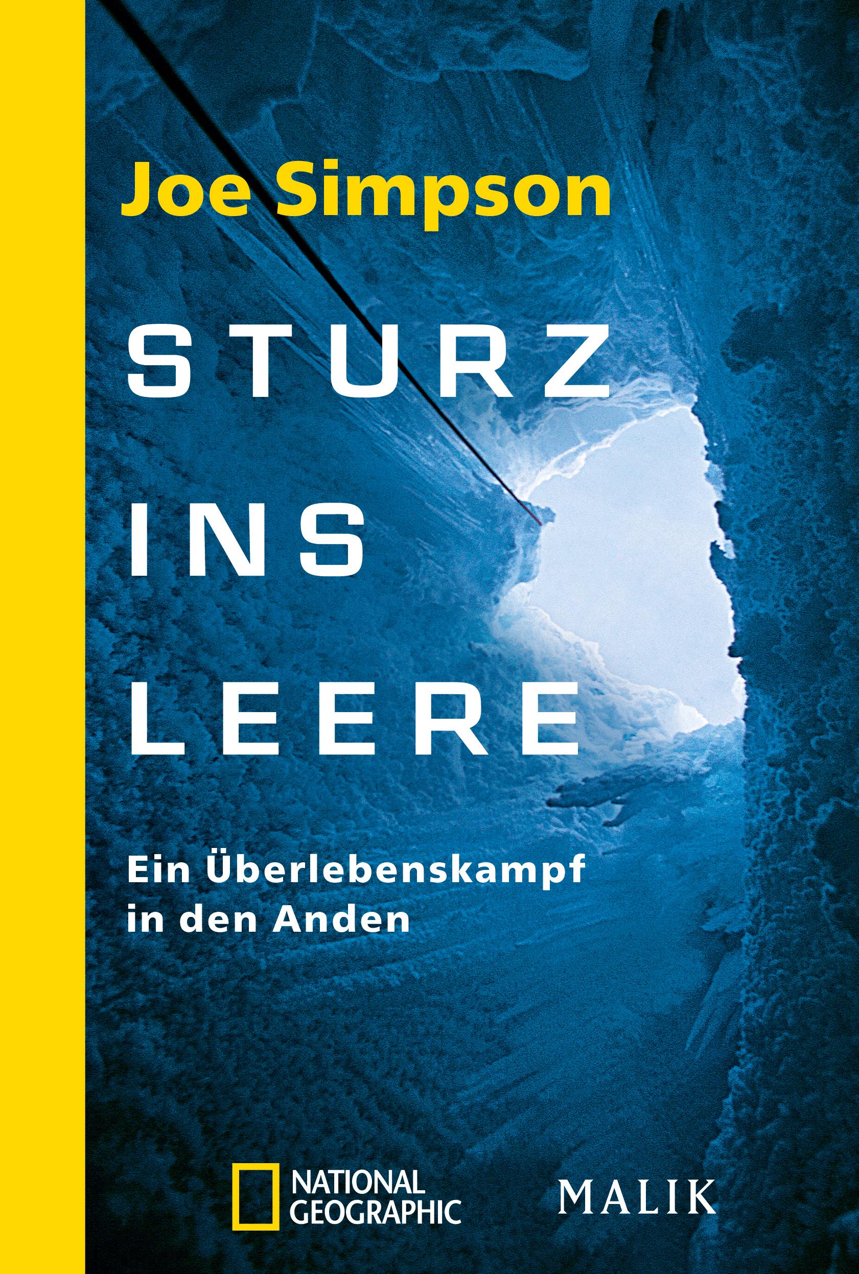 Sturz ins Leere von Joe Simpson | PIPER